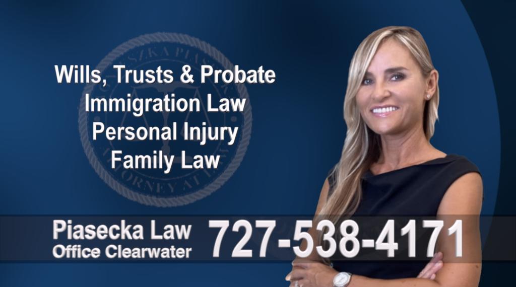 Sarasota Wills, Trusts, Probate, Immigration, Personal Injury, Family Law, Agnieszka, Aga, Piasecka, Attorney, Lawyer, Polish 21